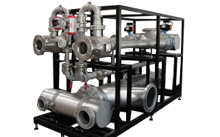 Transfer systems for ozone using Körting jet pumps